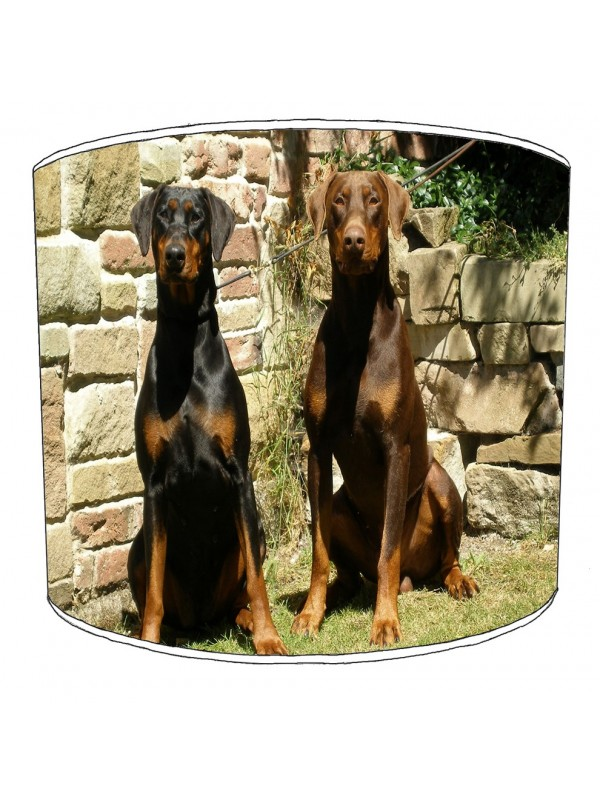 doberman lampshade 8
