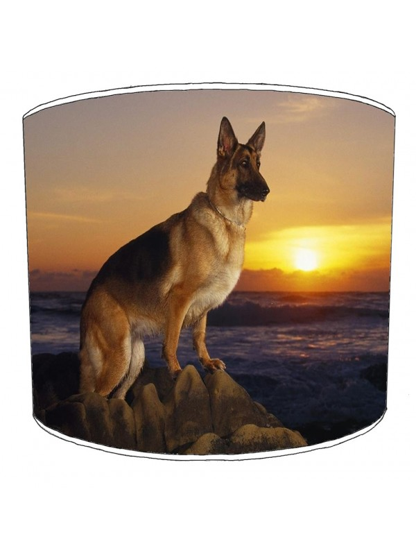 german shepherd lampshade 3