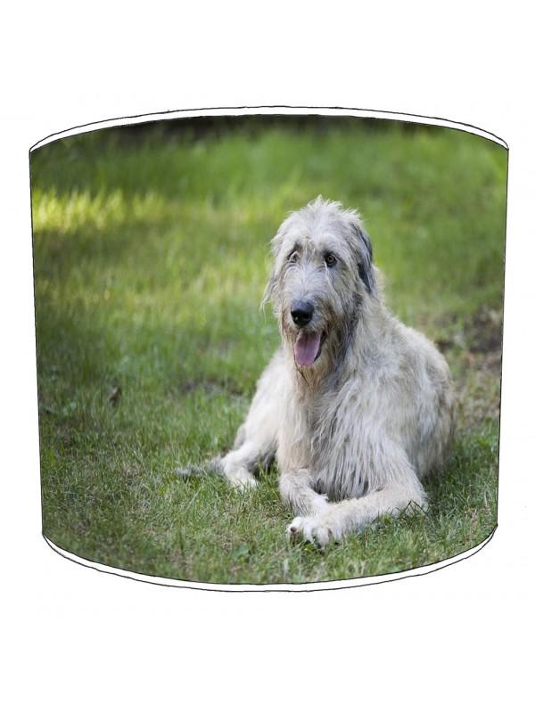 irishwolfhound lampshade 1