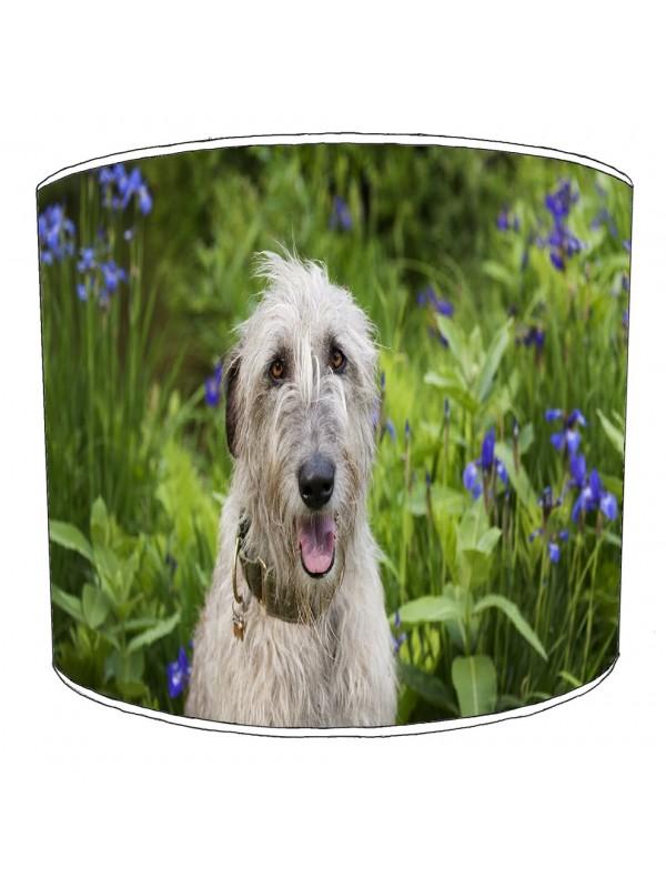 irish wolfhound lampshade 8