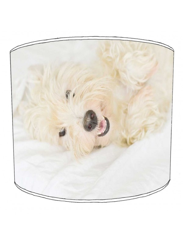 westhighland terrier lampshade 1