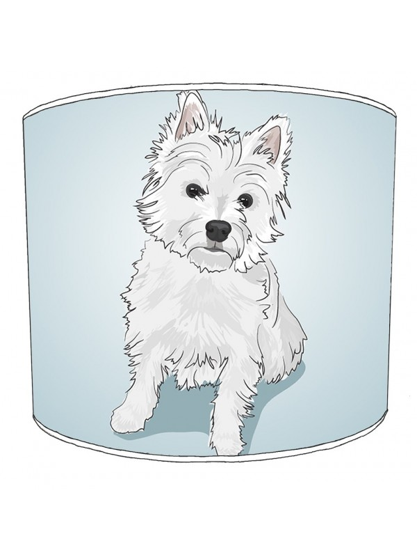 westhighland terrier lampshade 2