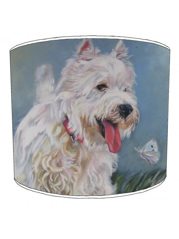westhighland terrier lampshade 3