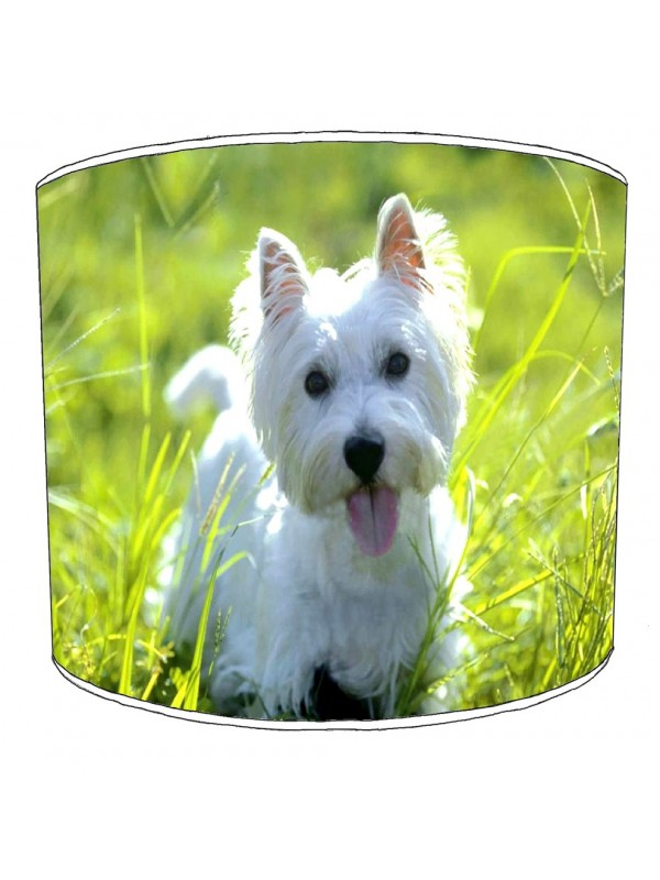 westhighland terrier lampshade 7