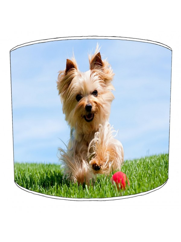 yorkshire terrier lampshade 1