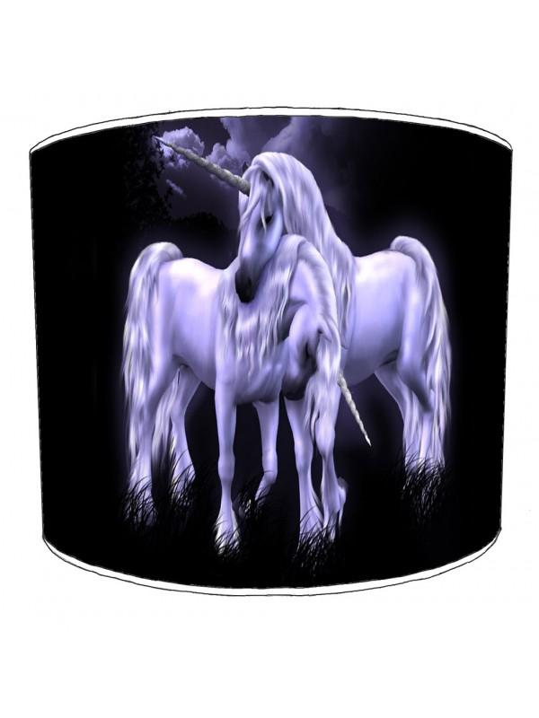 unicorn childrens lampshade 1