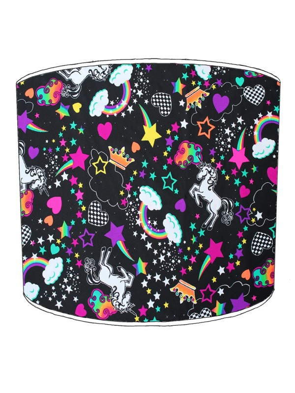 unicorn childrens lampshade 16
