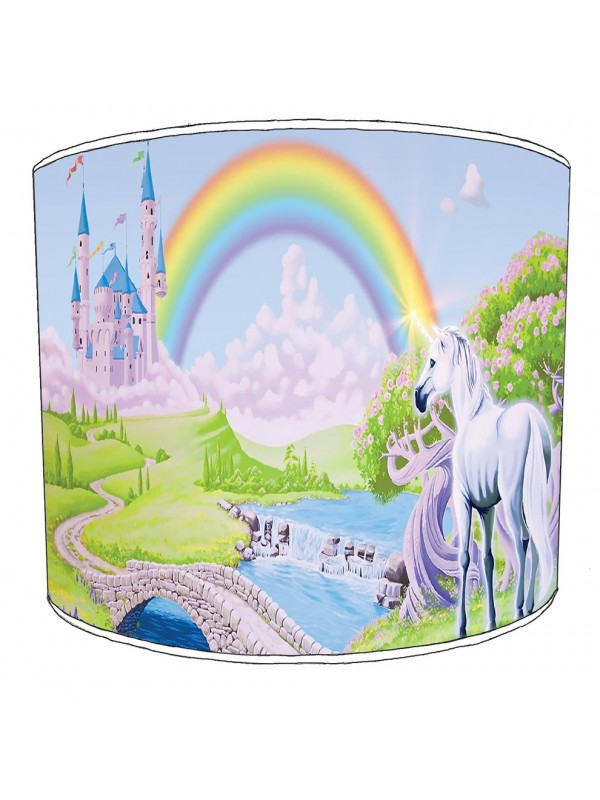unicorn childrens lampshade 18