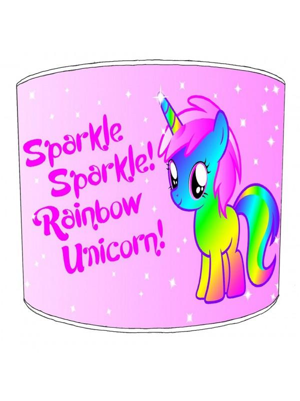 unicorn childrens lampshade 20
