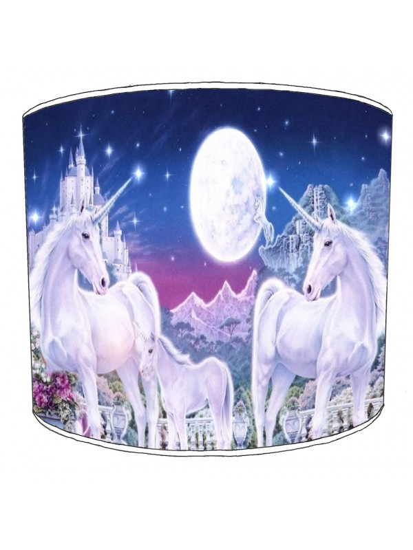 unicorn childrens lampshade 21