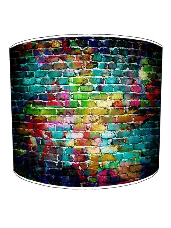graffiti street art lampshade 1