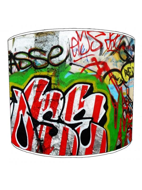 graffiti street art lampshade 13