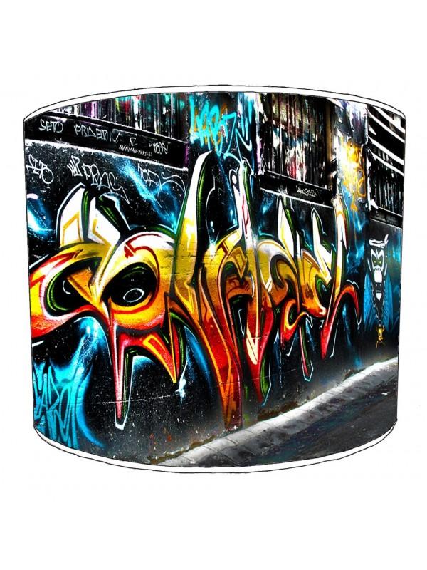graffiti street art lampshade 14