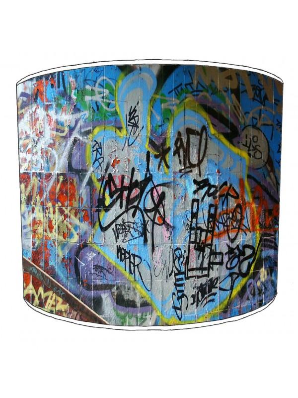 graffiti street art lampshade 4