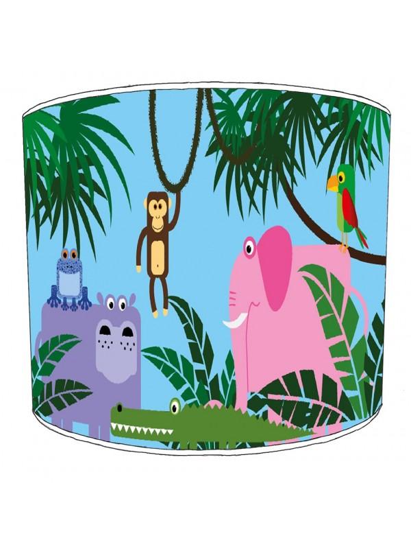 jungle animals lampshade 12