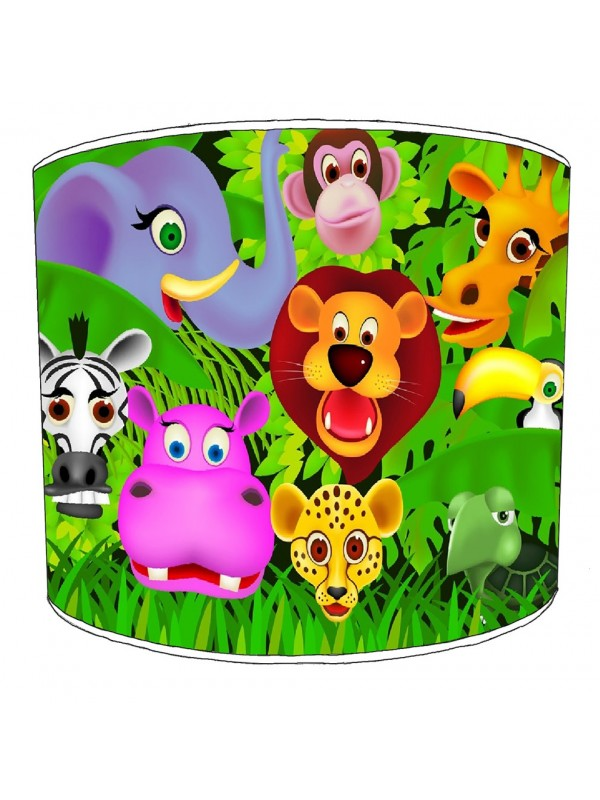 friends of the forest lampshade