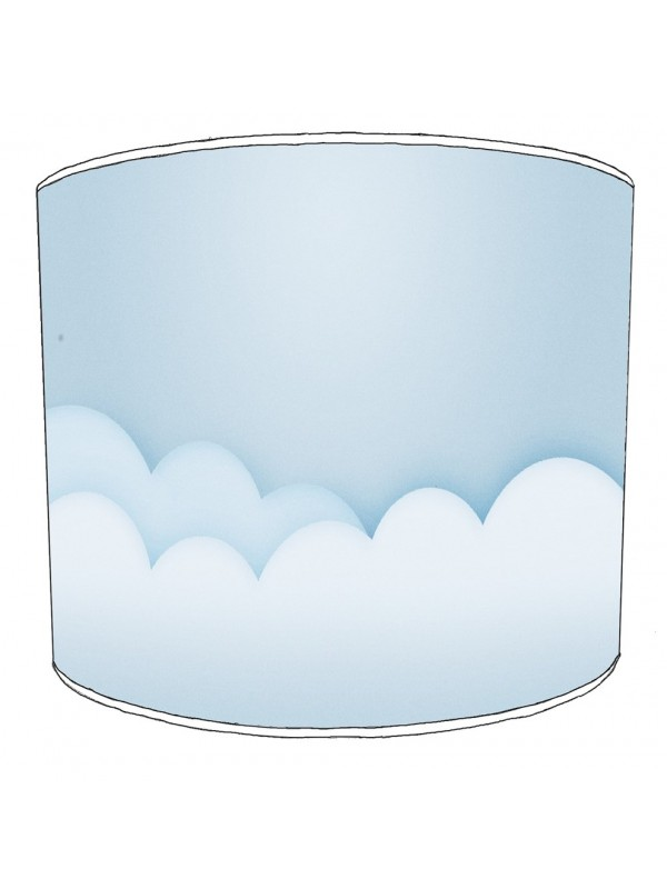 clouds lampshade 1