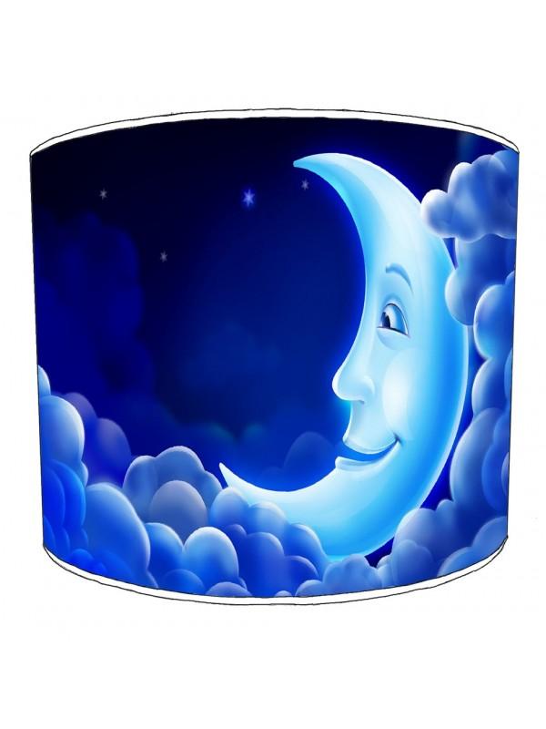 moon and stars lampshade 2