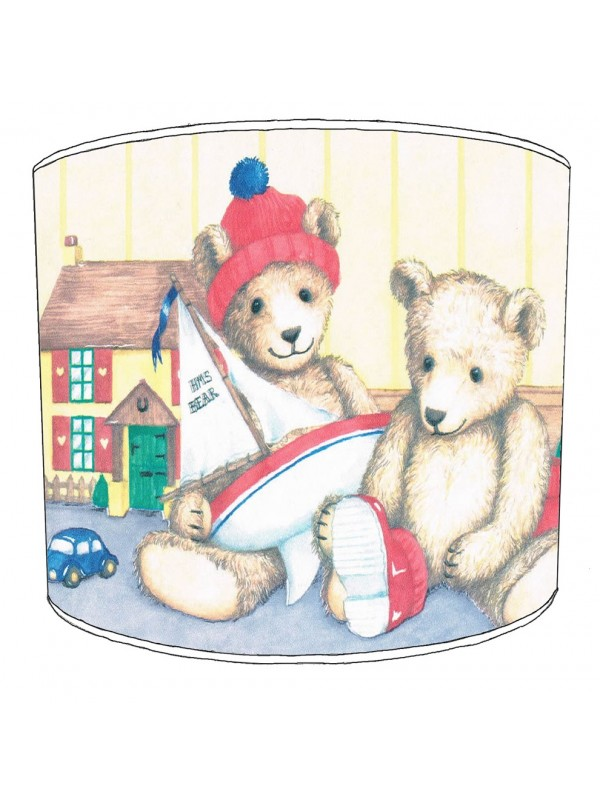 teddy bear lampshade 1