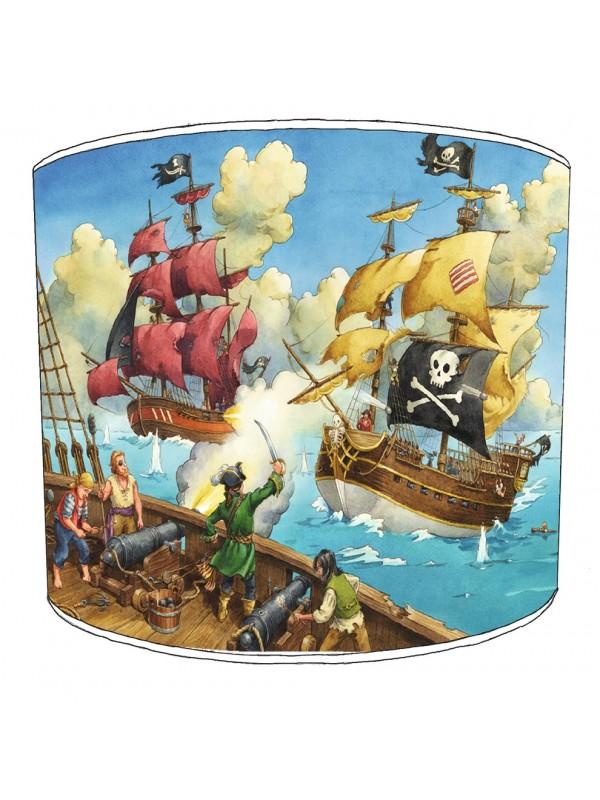 pirate battle lampshade