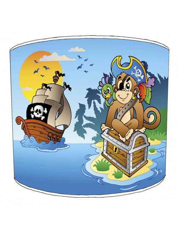 monkey pirate lampshade 3