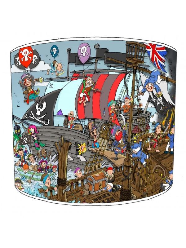 pirates lampshade 4