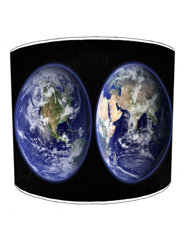 planet earth lampshade