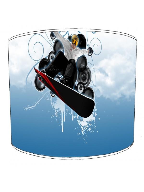 skiing snowboarding lampshade 11