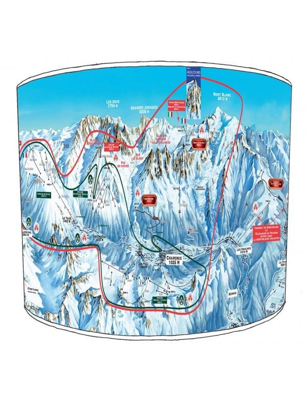 skiing snowboarding lampshade 3