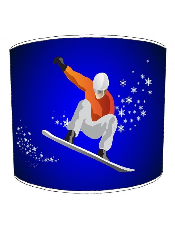 skiing snowboarding lampshade 4