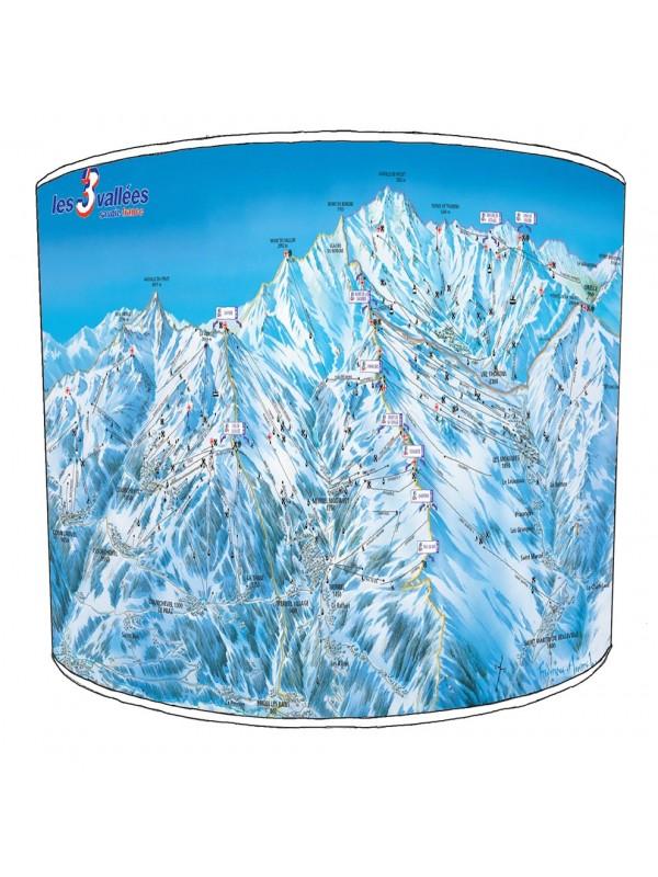 skiing snowboarding lampshade 6