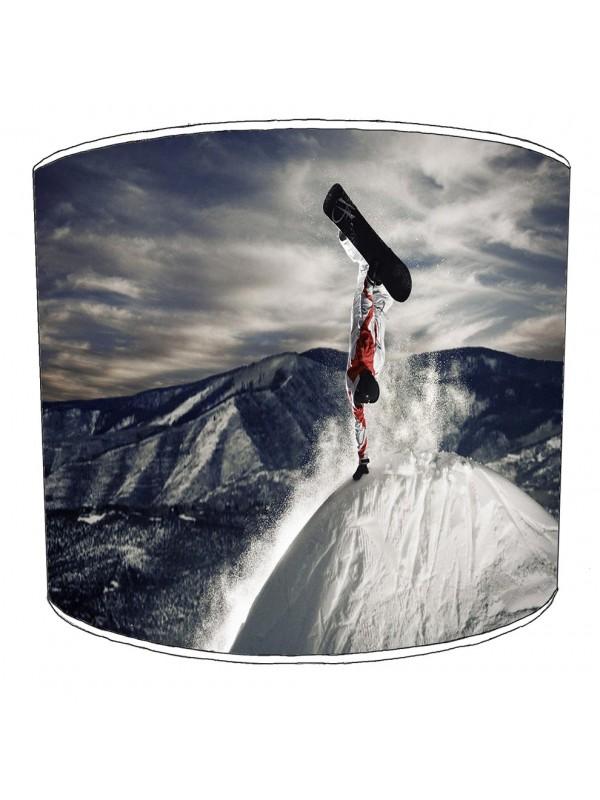 skiing snowboarding lampshade 7