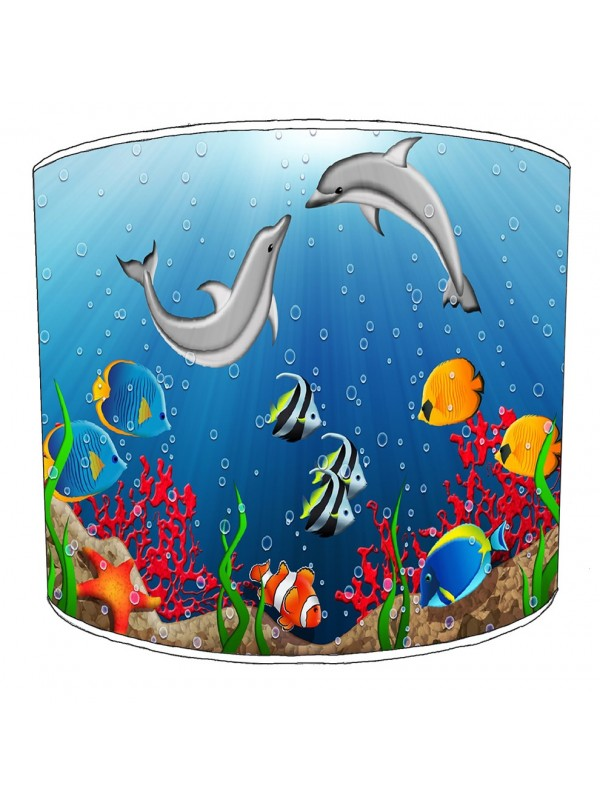 under the sea lampshade 1