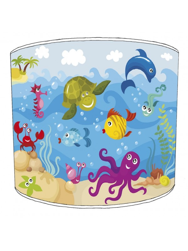 under the sea lampshade 2
