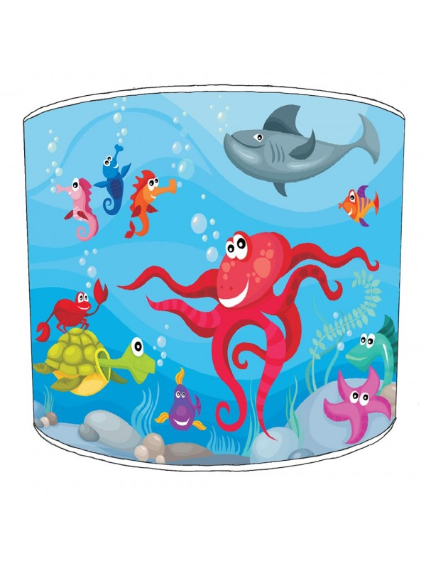 under the sea lampshade 3