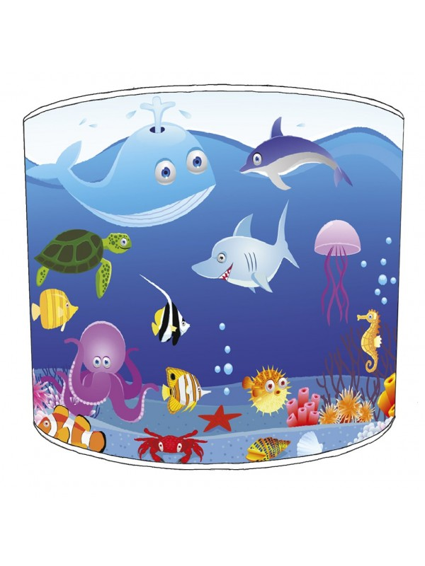 under the sea lampshade 6
