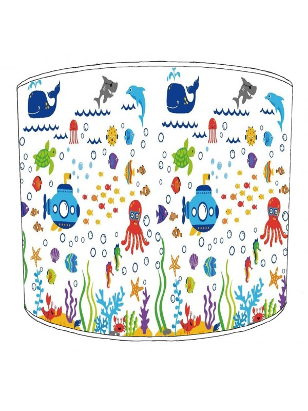 under the sea lampshade 8