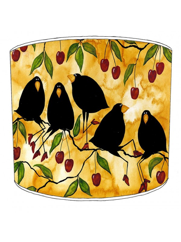 blackbird lampshade 1