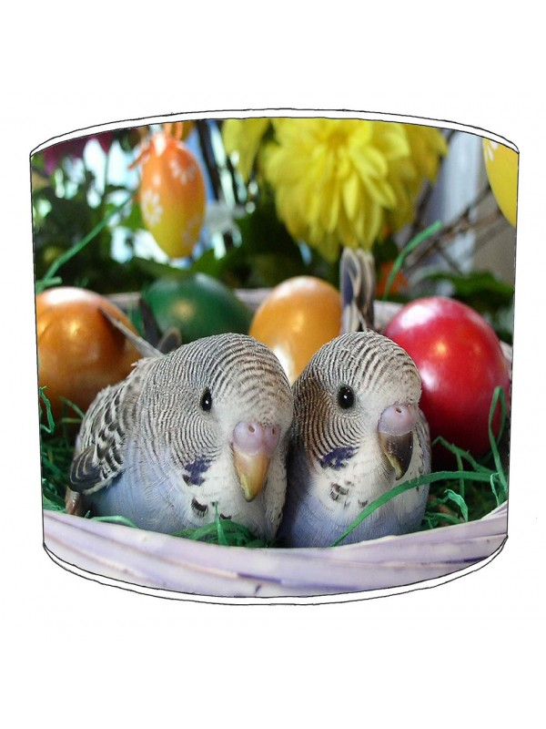 budgies lampshade 5