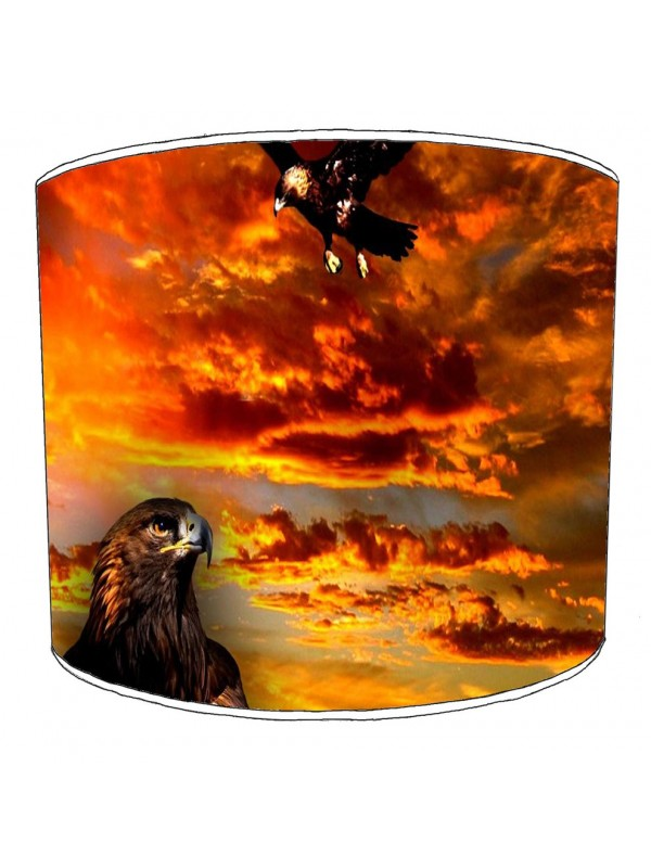 eagle lampshade 2
