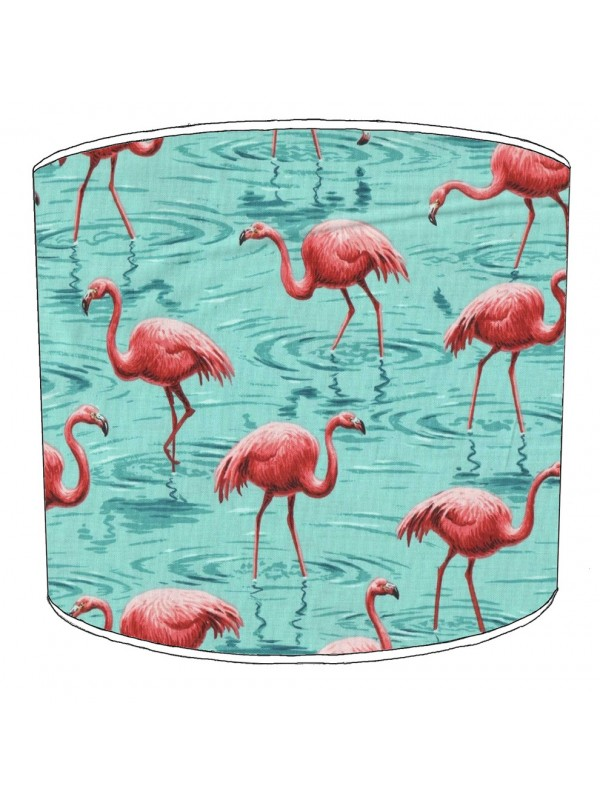 flamingo lampshade 1