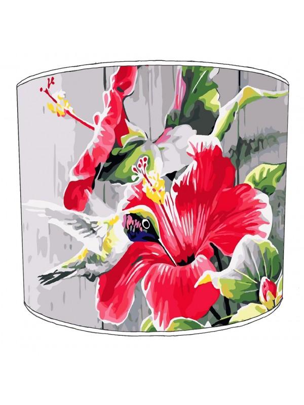 hummingbird lampshade 10