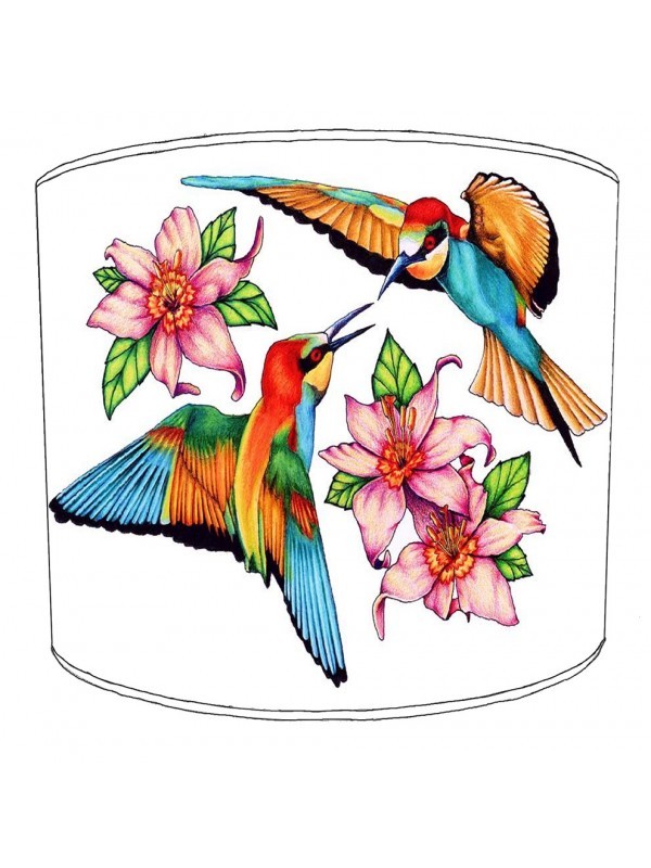 hummingbird lampshade 16