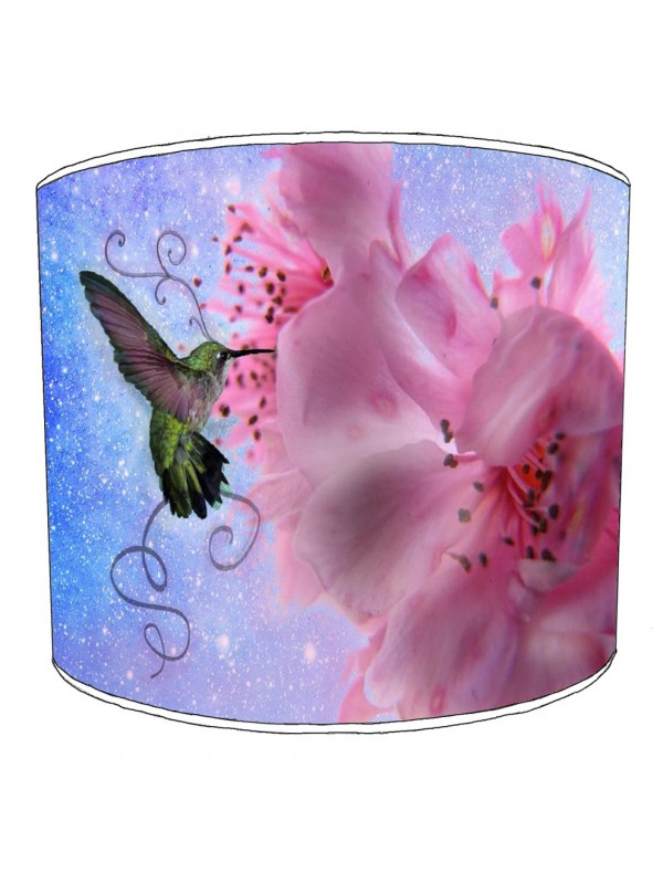 hummingbird lampshade 2