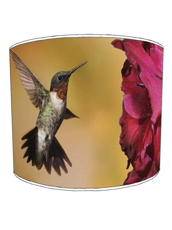 hummingbird lampshade 7