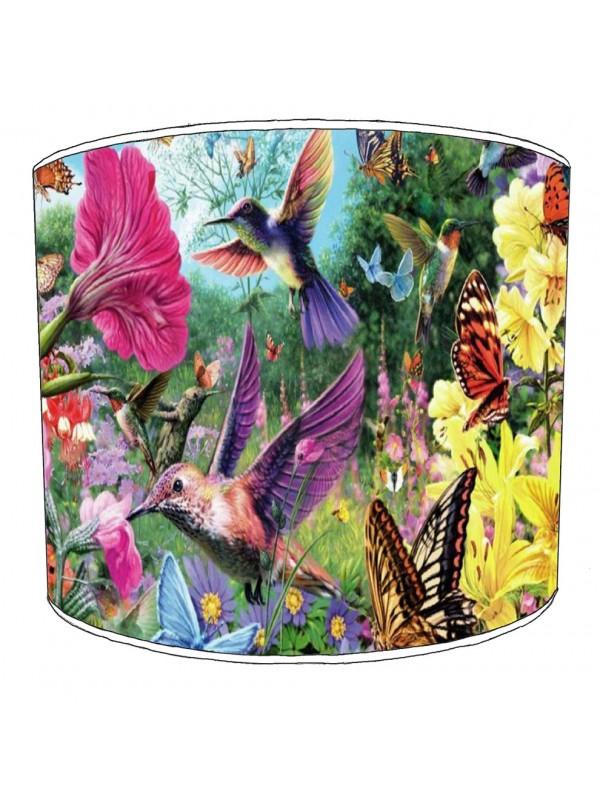 hummingbird lampshade 8