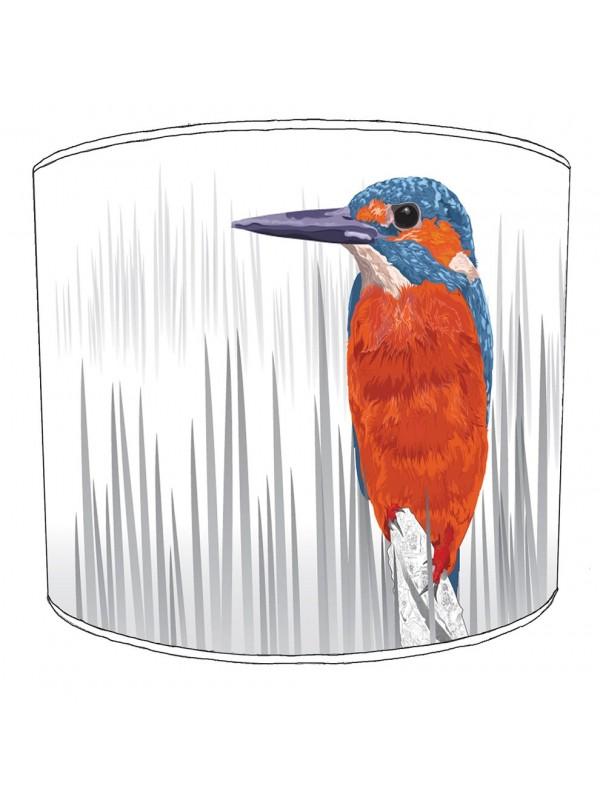 kingfisher lampshade 1