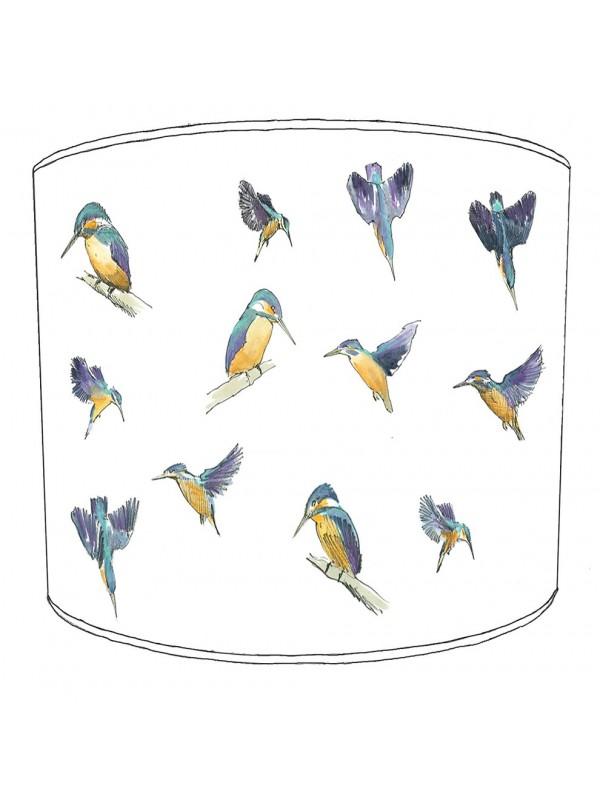 kingfisher lampshade 22