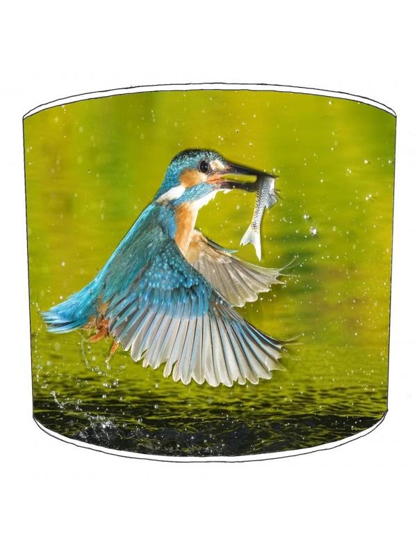 kingfisher lampshade 3