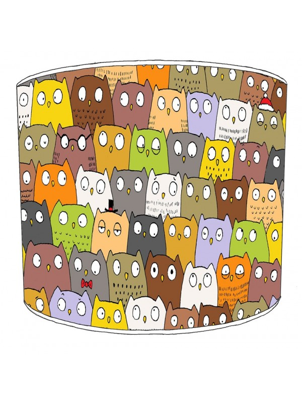 owls lampshade 14